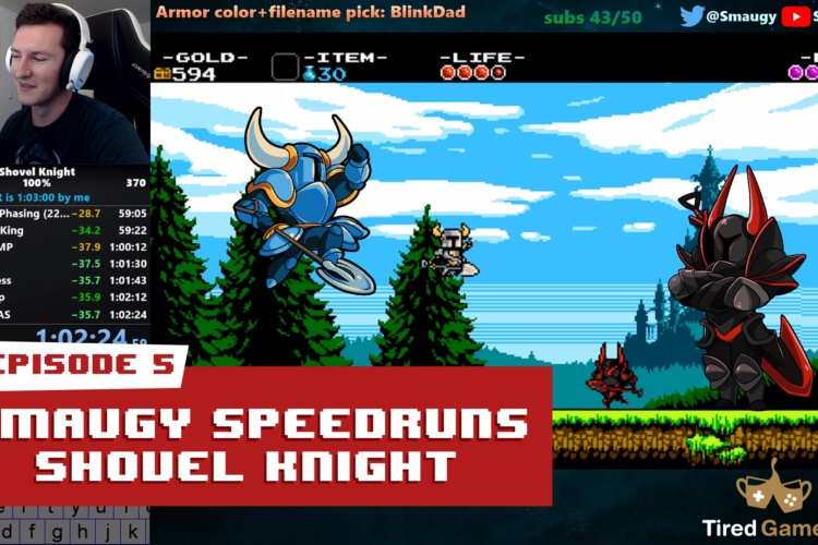 Shovel Knight Retrospective Episode 5: Speedruns with Smaugy